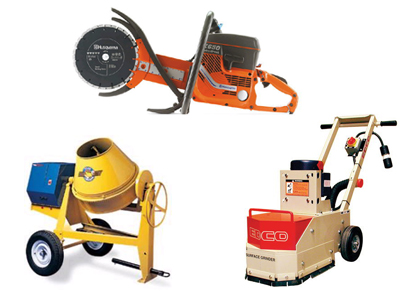 Concrete tool rentals in Hartford CT, Torrington, Winsted, Farmington Valley