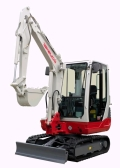Rental store for EXCAVATOR, TAKEUCHI TB228  9  5 in Canton CT