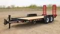 Rental store for TRAILER, TOWMASTER 81 X18  12000 CAP in Canton CT